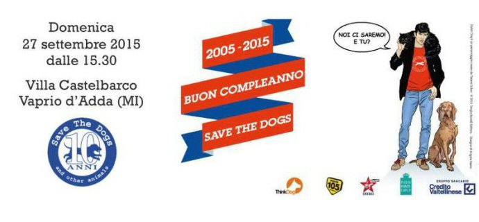 Buon compleanno Save The Dogs!