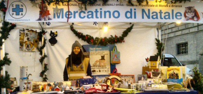 Parte il 5 dicembre il banco natalizio a Monza!