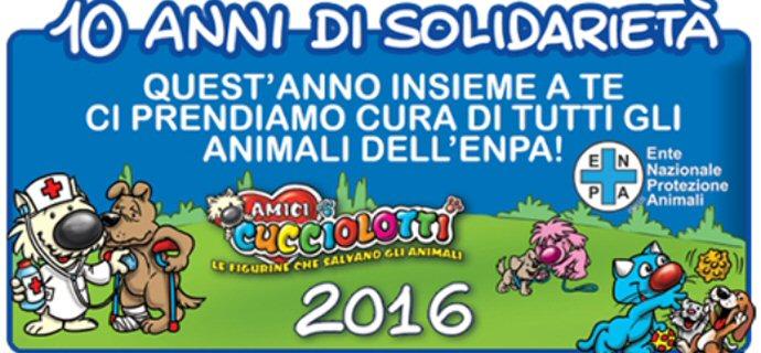 Amici Cucciolotti: 10 anni accanto all'ENPA!