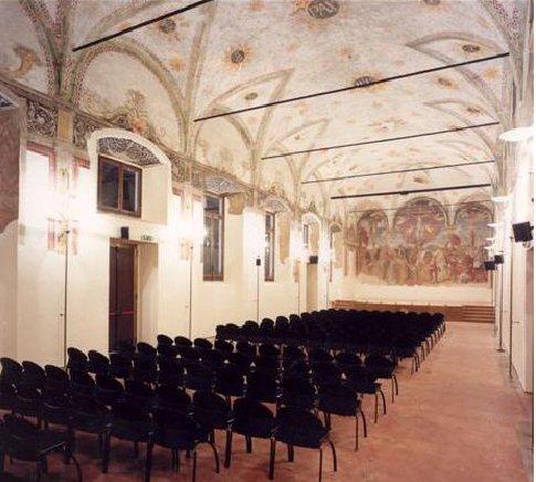 salone affreschi
