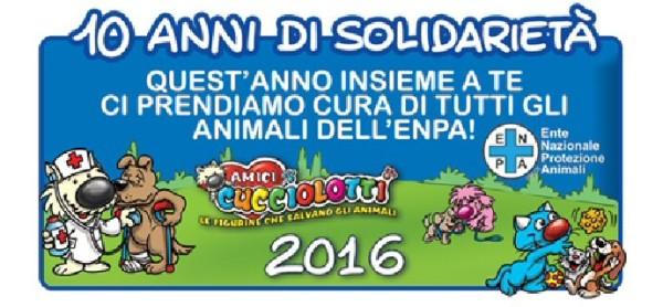 Amici Cucciolotti: un grosso aiuto all'ENPA per le spese veterinarie.