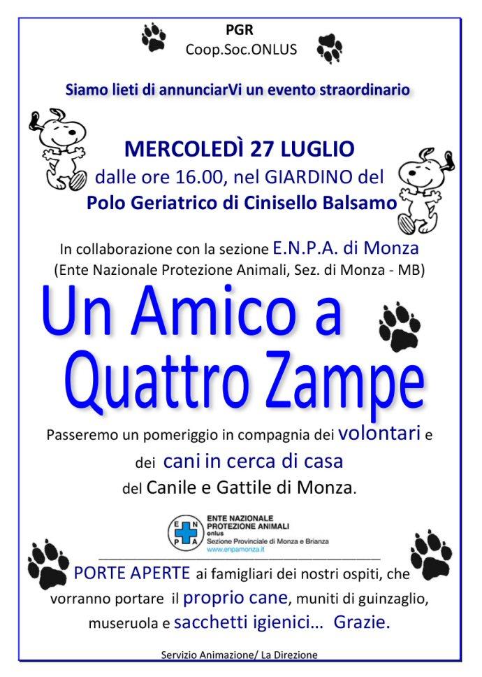 home page-UN AMICO A 4 ZAMPE
