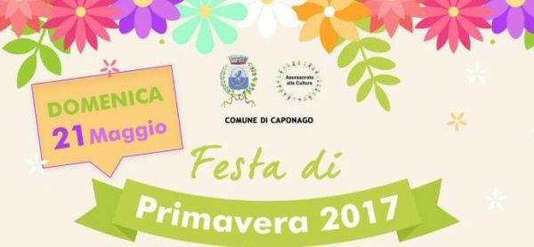 Domenica 21 maggio: a Caponago si festeggia la primavera!