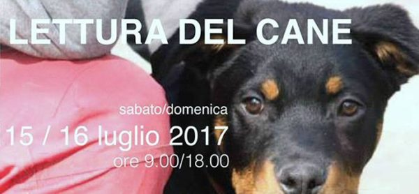 """Un seminario per conoscerlo meglio! """"Lettura del cane"""", 15 e 16 luglio."""