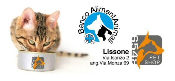 """Sabato 8 luglio: torna la raccolta alimentare al """"Pet Shop"""" di Lissone"""