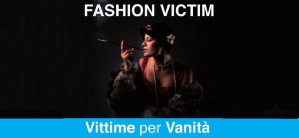 Fashion victim? No grazie! Sabato 11 novembre il banco ENPA per sensibilizzare le persone sull'uso di pelli e pellicce nell'abbigliamento.