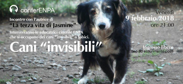 Serata Jasmine, venerdì 9 febbraio presso la sede ENPA.