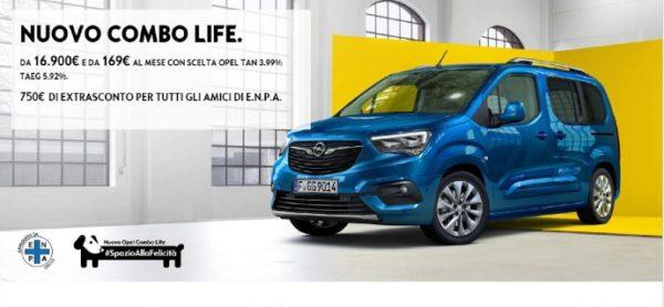 #SpazioAllaFelicità, la nuova partnership ENPA-Opel